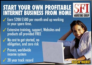 SFI - one of our top Work at Home Opportunities